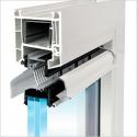 Grila ventilatie instalate pe sticla TC45